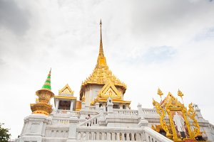 Temple of golden Buddha