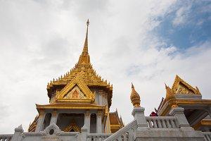 Temple of golden Buddha
