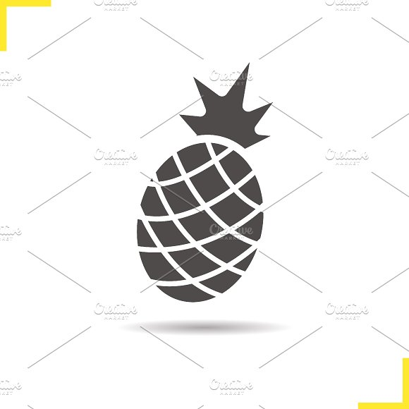 Pineapple icon. Vector - Icons