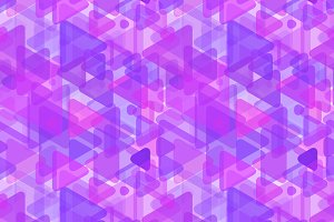 Abstract purple shapes on white