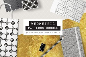 Geometric Patterns Bundle - vol2