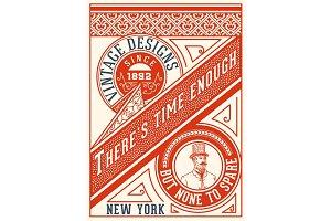 Old card design
