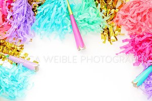Party Streamers Styled Photo