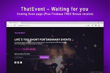 ThatEvent – Waiting for you + Bonus