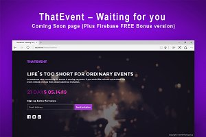 ThatEvent – Waiting for you + Bonus