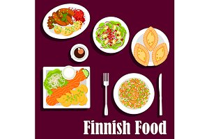 Finnish cuisine dishes