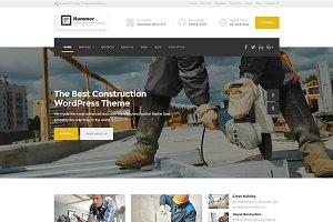 Hammer - Construction WP Theme