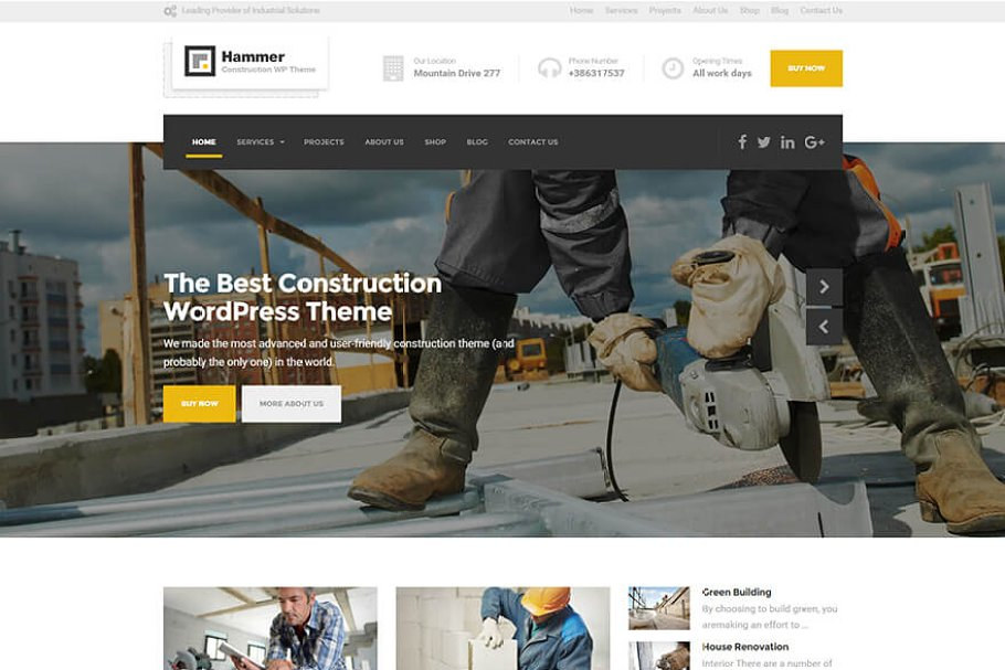 27 Engineering Website Themes & Templates