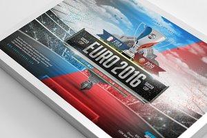 Euro 2016 Flyer Template