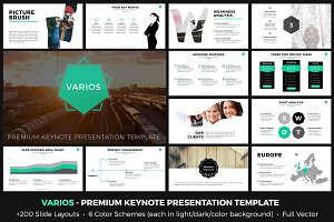 VARIOS Premium Keynote Presentation