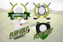 Professional logo of  golf club