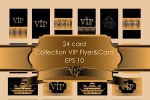 Set VIP Flyers&Card
