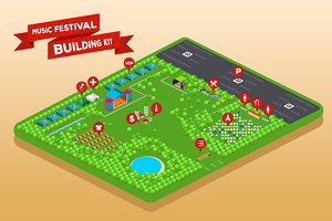Music Festival Building Kit