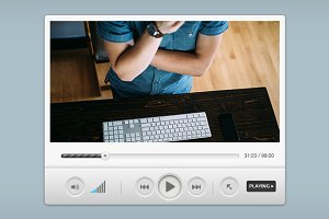 Media Player Widget