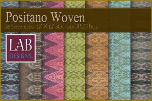 16 Colorful Woven Fabric Textures