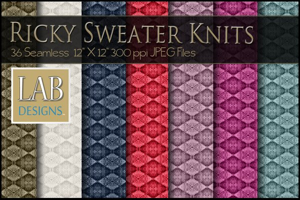 30 Knit Sweater Fabric Textures