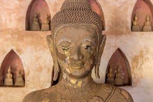 Buddha Art in wat Sisaket.