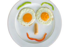 Frying Eggs for breakfast
