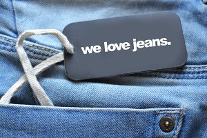 We love jeans