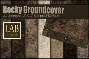 20 Rocky Terrain Ground Textures