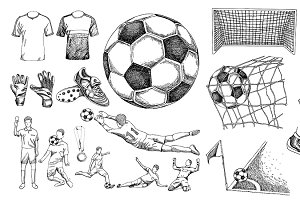 Soccer Drawing