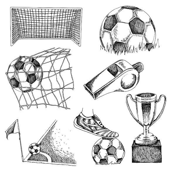 Soccer Drawing