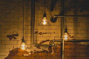 Retro luxurt light lamp