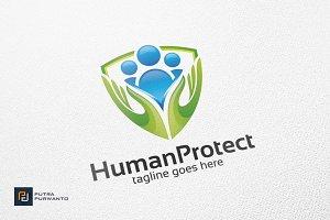 Human Protect - Logo Template