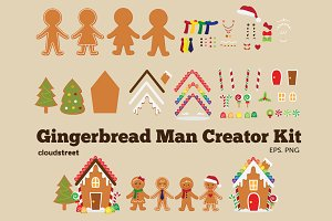 Gingerbread Man Creator Kit
