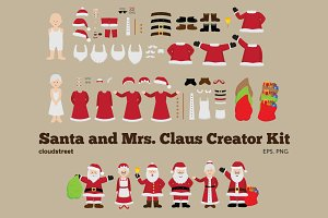 Santa and Mrs Claus Creator Kit