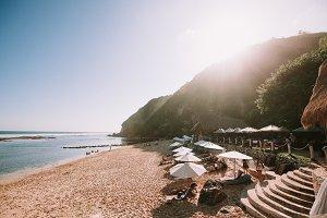 Bali Beach Club Sunset