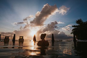 Tourist in Bali