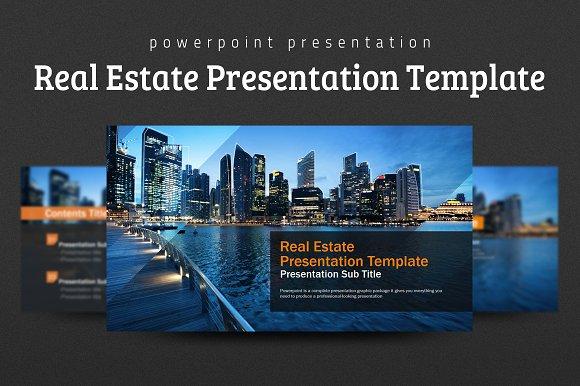 real estate presentation template presentation templates