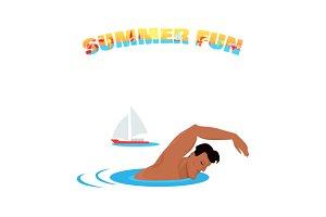 Summer Fun Banner Poster