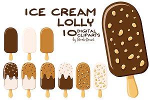 Ice Cream Lolly Cliparts