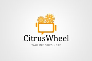 CitrusWheel - Logo Design Template