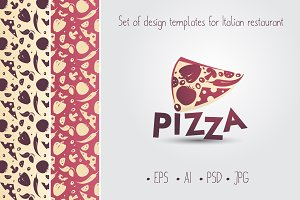Design templates for restaurant