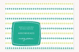 VECTOR & PSD Arrowhead webtile & pat