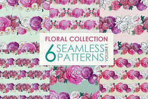 Floral Pattern Collection Vol. 1