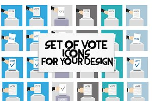 Vote vector illustration