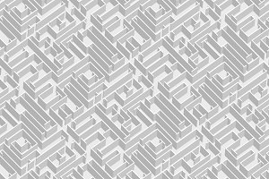 Labyrinth vector background