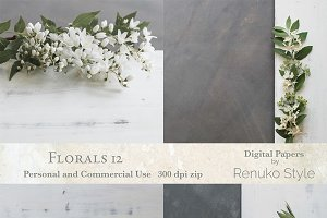 Florals 12 backgrounds