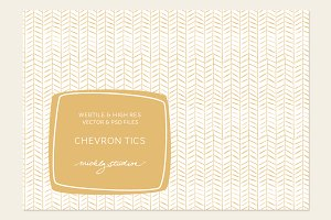 VECTOR & PSD Chevron Tics tiles & pa