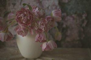 Shabby Chic Tulips