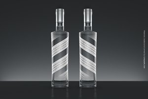 Vodka Bottle Mock-up no.2