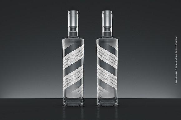 Vodka Bottle Mock-up no.2 - Product Mockups