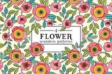 Floral pattern. Roses