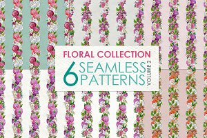 Floral Pattern Collection Vol. 2