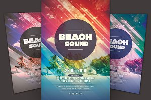 Beach Sound Flyer