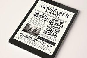 The Digital Newspaper